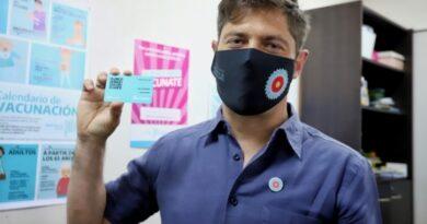Kicillof anunció vacuna libre para mayores de 50 años, embarazadas, inumnodeprimidos y sector salud