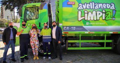 Avellaneda aumenta su flota de vehículos para mejorar la calidad de los servicios